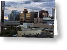Phoenix Downtown Skyline Greeting Card