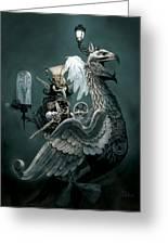 Phoenix Goblineer Greeting Card by Paul Davidson