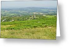 Phoenix United Mine Ruins On Bodmin Moor Greeting Card