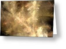 Phosphorescent Forest Greeting Card