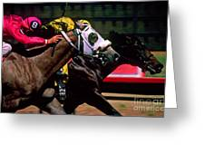 Photo Finish Greeting Card