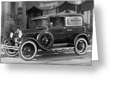 Photographer's 1928 Truck Greeting Card