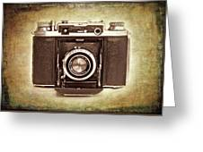 Photographer's Nostalgia Greeting Card