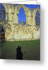 Photographers Shadow Greeting Card