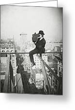 Photographing Nyc Above 5th Avenue - 1905 Greeting Card