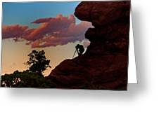 Photographing The Landscape Greeting Card