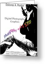 Photography With A Snap Greeting Card