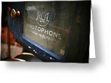 Photophone Greeting Card