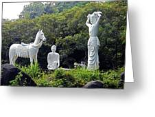 Phu My Statues 1 Greeting Card