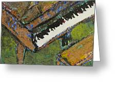 Piano Close Up 1 Greeting Card
