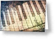 Piano Days Greeting Card