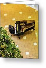 Piano Man Greeting Card