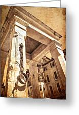 Piazza Erbe Greeting Card