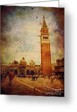 Piazza San Marco - Venice Greeting Card