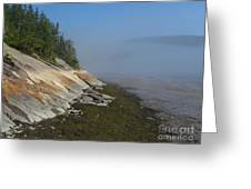 Baie-des-rochers, Quebec Greeting Card