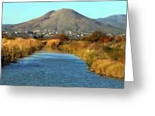 Picacho Peak Greeting Card