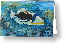Picasso Fish Greeting Card