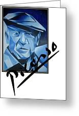 Picasso's Signature Greeting Card