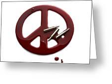 Peace Talks Greeting Card