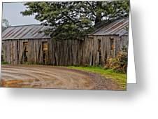 Pickers Huts Greeting Card