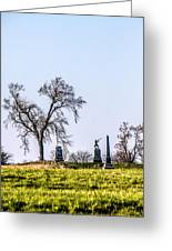 Picketts Charge Greeting Card