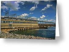 Pickwick Landing Dam Pickwick, Tennessee Greeting Card