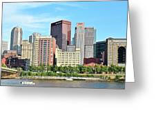 Picture Perfect Pittsburgh Panoramic Greeting Card
