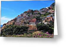 Picture Perfect Positano. Greeting Card