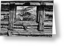 Picture Window #3 Greeting Card