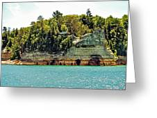 Pictured Rock 6323  Greeting Card