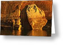 Pictured Rocks Mitten Greeting Card