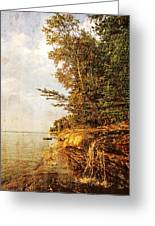 Pictured Rocks Water Greeting Card