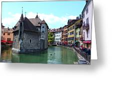 Picturesque Annecy, France Greeting Card