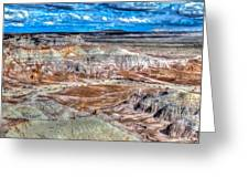 Picturesque Blue Mesa Greeting Card