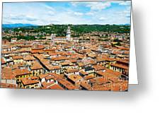 Picturesque Cityscape Of Verona Italy Greeting Card