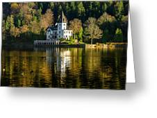 Picturesque Grundlsee Greeting Card