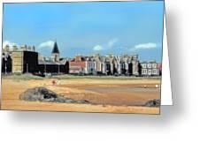Picturesque North Berwick Scotland Greeting Card