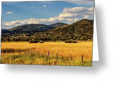 Picturesque View Of Steamboat Springs Colorado Greeting Card