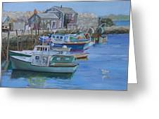 Pidgeon Cove  Greeting Card