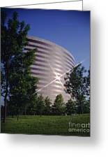 Corporate Woods Pie Building Greeting Card