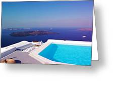 Piece Of Mediterranean Paradise Greeting Card