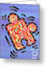 Pieces Fit Greeting Card