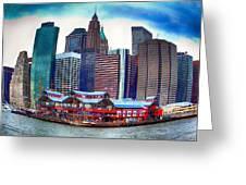 Pier 17 Ny Ny Greeting Card