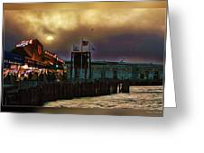 Pier 39 In San Francisco  Greeting Card
