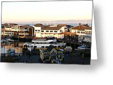 Pier 39 Panorama Greeting Card