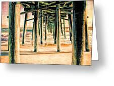 Pier Crisscross Greeting Card