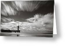 Pier End Greeting Card