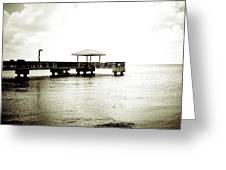 Pier Extreme Greeting Card