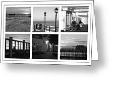 Pier Moods Greeting Card