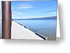 Pier Posted Greeting Card